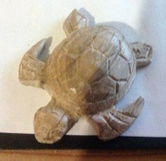 Small carved turtleManufacture of a small turtle carved in oak, fast and simple enough to implement. No need big machines and gouges a coping saw enough.Equipment: ...
