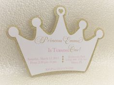 Princess Crown Invitation, Pink And Gold, Crown Invitation, Baby Shower  Invitation, Birthday Invitation, Pink And Gold Shower. Prinzessin  KroneEinladung ...