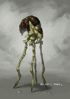 Monster No. 051 by Onehundred-Monsters.deviantart.com on @DeviantArt