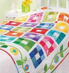 A Colorful Quilt You're Sure to Treasure - Quilting Digest