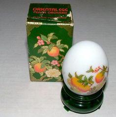 "Vintage Avon Oriental Peach Orchard Egg 1oz ""Moonwind"" Cologne Unused Full | eBay"
