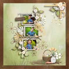 Scrap, Graphics, Spring, Frame, Decor, Picture Frame, Decoration, Graphic Design, Printmaking