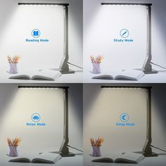 A bedside lamp with four light settings and an auto-shut-off timer so you can read and drift off to sleep at your convenience, Dorm Necessities, Bedroom Reading Nooks, Cozy Bedroom, Teen Bedroom, Bedroom Hacks, Bedroom Decor, Bedroom Lighting, Bedroom Ideas, Master Bedroom