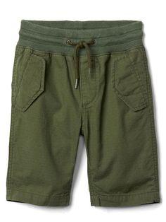 Gap Boys Pull-On Cargo Shorts Desert Cactus