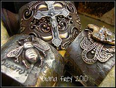 Cuffs Galore by Diana Frey, via Flickr