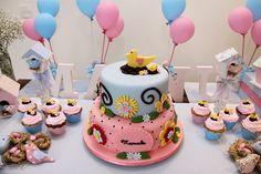 Ciruela Eventos: organización de fiestas y eventos en Uruguay: Un cumpleaños lleno de pajaritos.