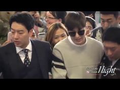 Lee Min Ho 20160416 Gimpo Airport 중국 북경 출국