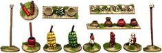 African Tribal Goods 20 assorted items - DA082 Foundry Darkest Africa