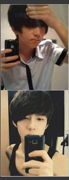Pre-Debut of Sehun ~ ExoK ahhhh he looks so young!!!!! I can't he's sooooo adorable!!! How did this turn into our sexy ,sassy , fabulous , maknae?!?