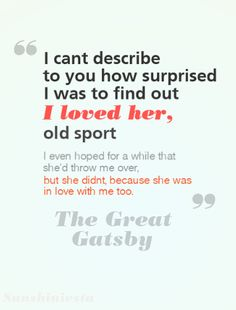 The Great Gatsby Love Quotes Great Gatsby  07Books ♥  Pinterest  Gatsby And Literature