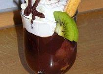 Kakaová poleva do pohárů Chocolate Fondue, Cheesecake, Pudding, Sweet, Fine Dining, Candy, Cheesecakes, Custard Pudding, Puddings
