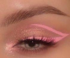 eyeshadow eyeliner makeup ideas of the dead makeup ideas ideas with glitter quinn makeup ideas halloween makeup ideas makeup ideas for halloween makeup ideas for women years makeup ideas Cute Makeup Looks, Makeup Eye Looks, Eye Makeup Art, Skin Makeup, Makeup Inspo, Eyeshadow Makeup, Pink Eyeliner, Makeup Set, Pretty Makeup