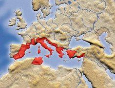 Roman Empire, 100 BC