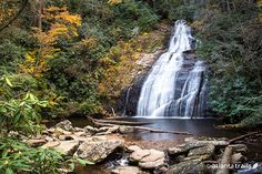 Looking for a great, kid-friendly waterfall hike? Check out Helton Creek Falls near Helen, Georgia.