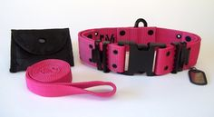 Our Military K9 Heavy Duty Large Dog Collar now comes in HOT PINK! #dogcollar #Military