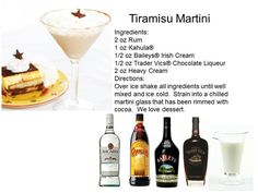 Dessert Cocktails | Midnight Mixologist yummiest recipes for any holiday party.