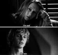 Tate and Violet // American Horror Story // Murder House