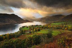 """Dramatic Skies, Ullswater"" - photo by John Robinson: Dramatic skies over Ullswater during a passing storm in the English Lake District."