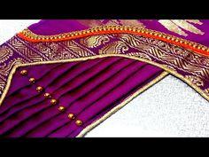 blouse designs paithani sarre blouse back neck design New Saree Blouse Designs, Patch Work Blouse Designs, Saree Blouse Neck Designs, Simple Blouse Designs, Stylish Blouse Design, Dress Neck Designs, Bridal Blouse Designs, Blouse Neck Models, Blouse Styles