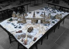 The Events Hall And Gaming Tables | Warhammer World | Games Workshop