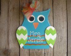 cute teacher owl