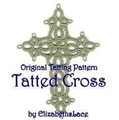 Tatted Cross by Elizabeth Zipay | Other Pattern
