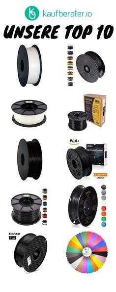 Die besten Filmamente im Test, Vergleich & Ratgeber. 3d Printer Filament, Tricks, Too Busy, First Aid
