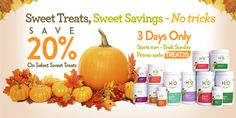 Limited Time Only: Sweet Treats, Sweet Savings - No Tricks! Save 20% on select Hallelujah Diet treats: www.myhdiet.com/shop #HappyHalloween #PlantBased