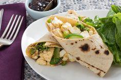 Paneer & Vegetable Kati Rolls with Tamarind-Date Chutney. Visit https://www.blueapron.com/ to receive the ingredients.