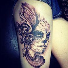 skull,tattoo,women-c5d616cd22c5917f1e464ce4d8b071a5_h.jpg (500×500)