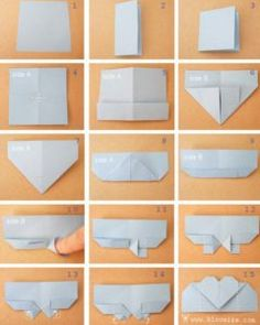 Best Origami Tutorials - Fold A Heart Page Marker - Easy DIY Origami Tutorial Projects for With Instructions for Flowers, Dog, Gift Box, Star, Owl, Buttlerfly, Heart and Bookmark, Animals - Fun Paper Crafts for Teens, Kids and Adults http://diyprojectsforteens.com/best-origami-tutorials