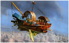 Flying boat 2 by 14-bis on DeviantArt
