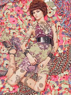 """Vogue Patterns"", Vogue Italia December 2007 - Album on Imgur"