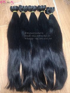 """MICHAIR CECILIA VN: #hotproduct DOUBLE DRAWN STRAIGHT WEFT HAIR 24""""..."""