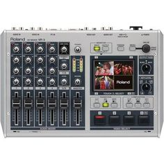 Roland VR-3 Portable Audio & Video Mixer with USB Port. Want it? Own it? Add it to your profile on unioncy.com #gadgets #tech #electronics #gear