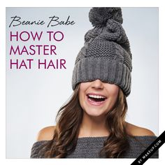 how to get rid of hat hair when your hat comes off // love these tips!