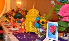 Brenda Muro design.  Loteria bridal shower