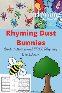 Indoor Activities For Toddlers, Kids Learning Activities, Rhyming Worksheet, Train Up A Child, Toddler Age, Mom Hacks, Working Moms, Kids Fun, Childhood Education
