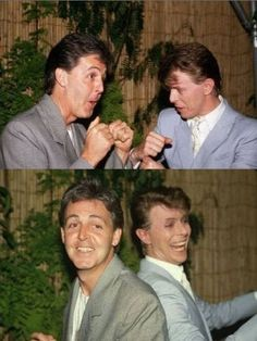 bowie and mc cartney