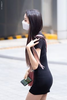 Fashion Tag, Daily Fashion, Jang Wooyoung, Mask Girl, Beautiful Young Lady, Japanese Girl Group, Airport Style, Kpop Girls, Korean Fashion
