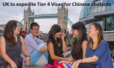 United Kingdom officials said that they would speed up the processing of visa applications for Chinese students, at all Visa Application Centers…