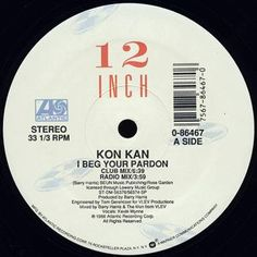 Kon Kan - I Beg Your Pardon (Vinyl) at Discogs