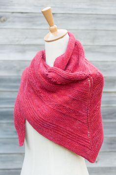 Shawl/scarf in merino wool
