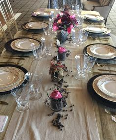 Corporate Events, Table Settings, Floral, Florals, Table Top Decorations, Flowers, Place Settings, Flower, Dinner Table Settings