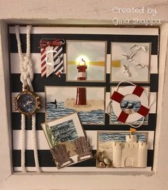 Summer Sampler! Created by GIna Shappa Class on June 24th!  High Tide