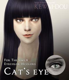 My Sims 4 Blog: Cat Eyes by Kewai-Dou