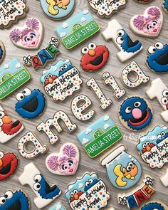 Sesame Street cookie