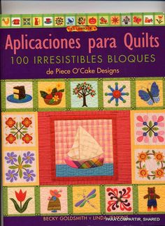 Aplicaciones para Quilts - Majalbarraque M. - Álbuns da web do Picasa...BOOK WITH OODLES OF BLOCK PATTERNS!!