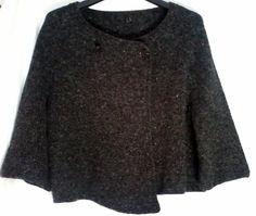 mantella poncio giacca maglia donna, by maglieria magica, 45,50 € su misshobby.com
