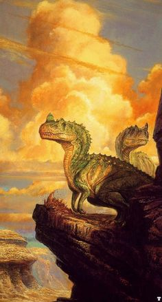 Ceratosaurus by Bob Eggleton
